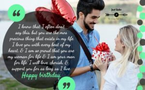 Happy Birthday Shayari Greetings Sayings SMS and Images for Lover