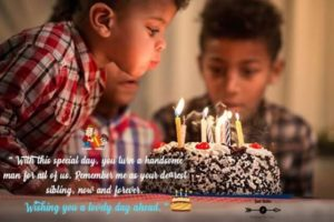 Creative Happy Birthday Wishing Cake Status Images For Little Boy