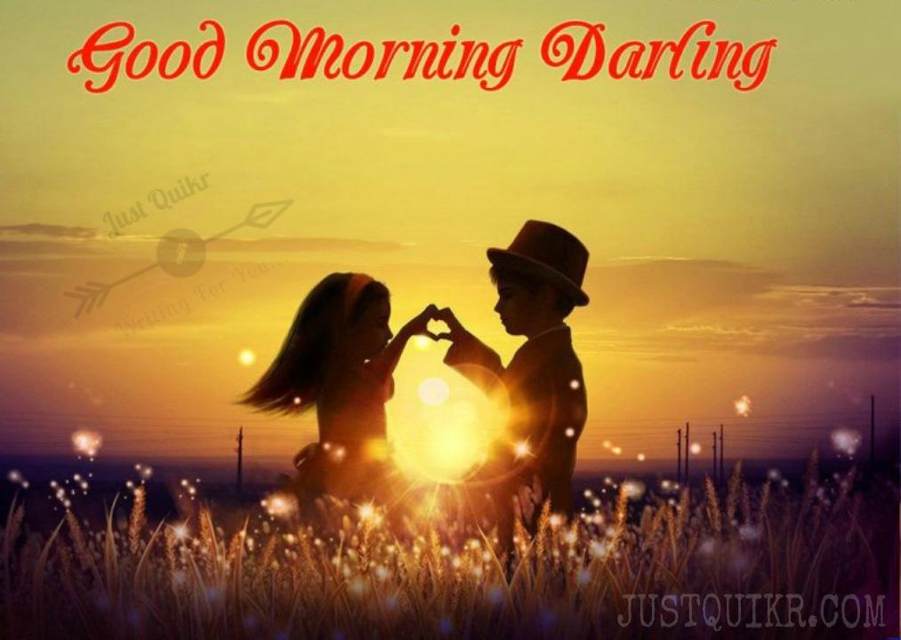 Good Morning Darling Pics Images