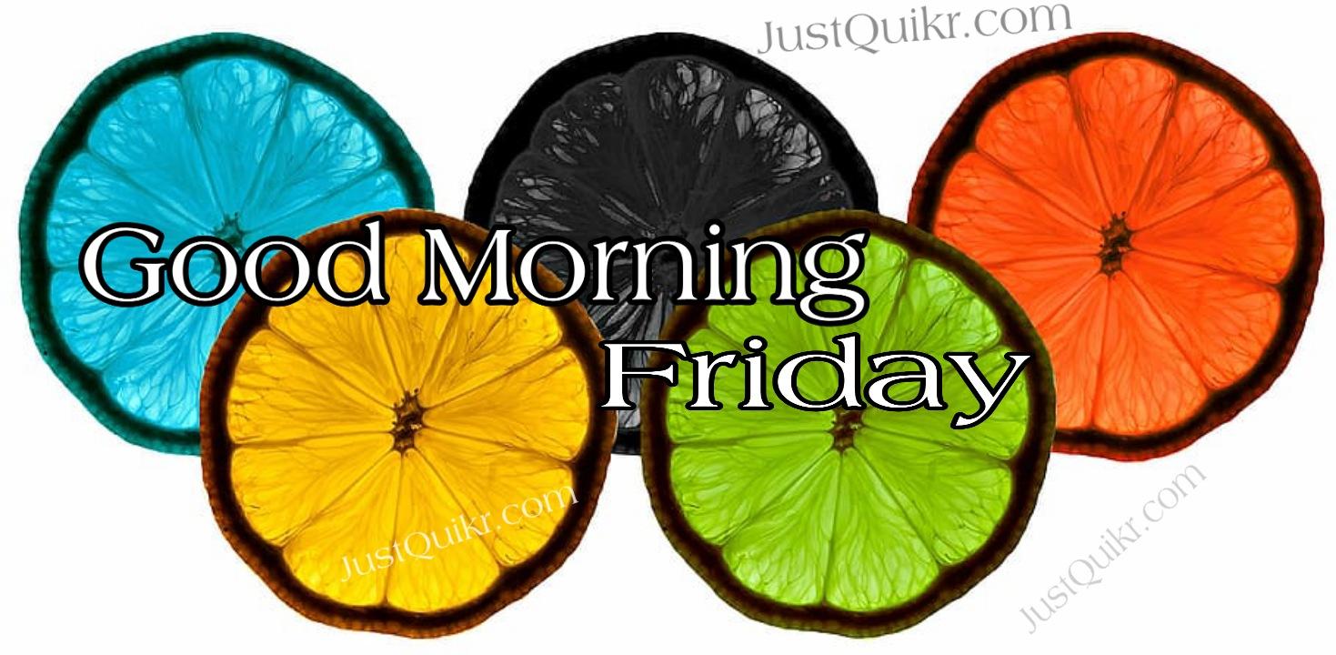 Good Morning Friday Pics Images Photo Wallpaper Download