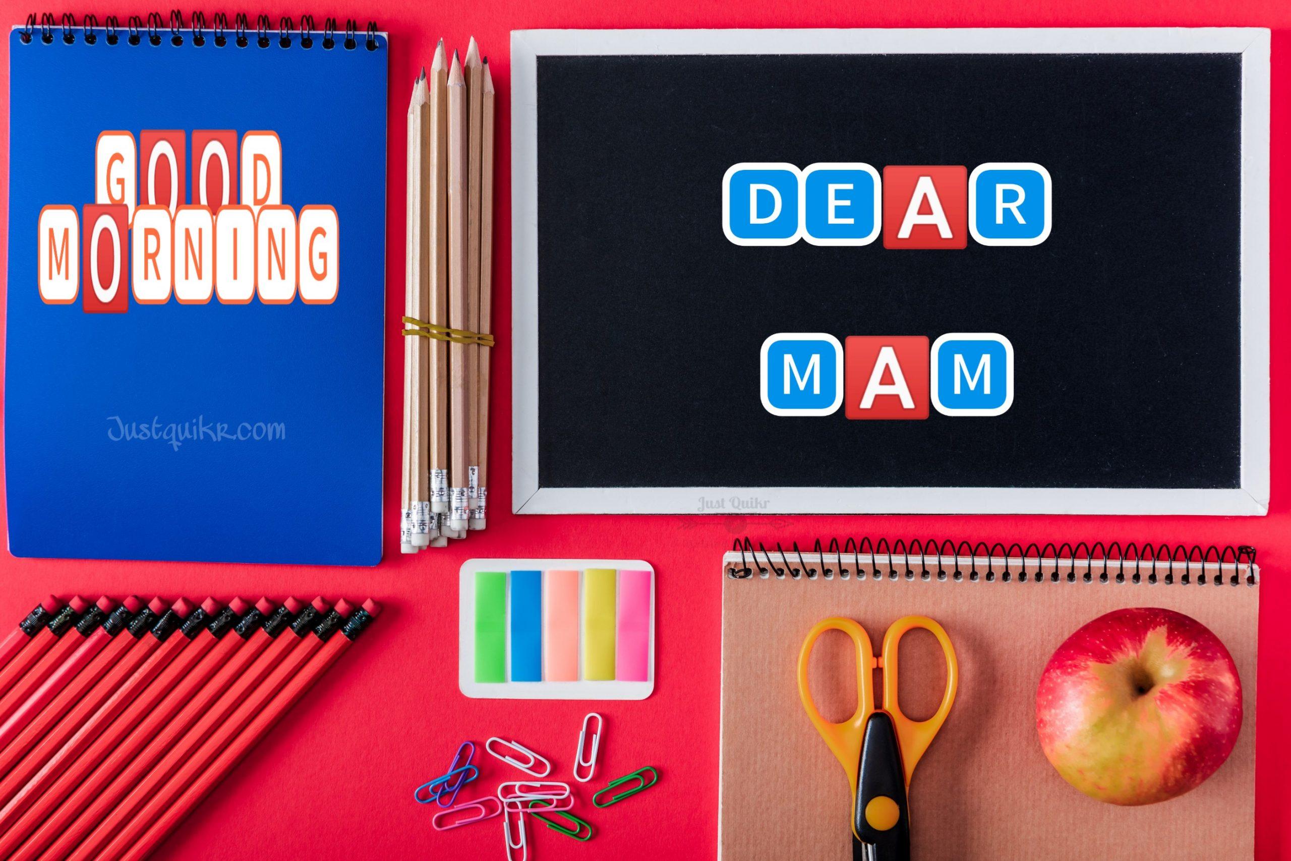GoodMorning Mam Pics Images