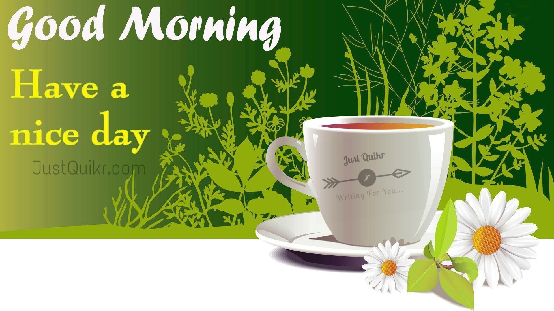 Good Morning Tea Pics Images