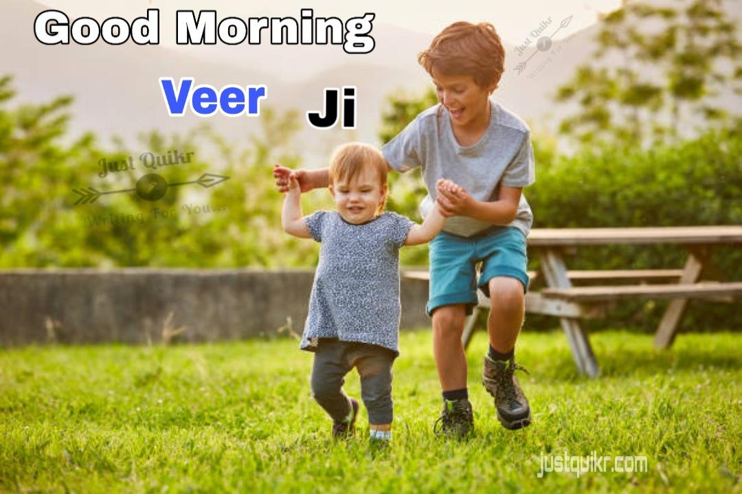 Good Morning Veer Ji Pics Images Photo Wallpaper Download