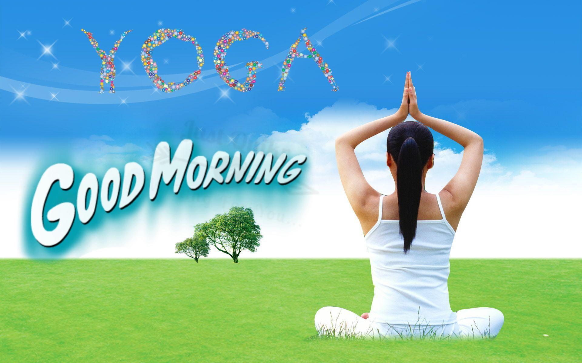 GoodMorning Yoga Pics Images