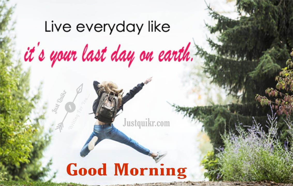 Good Morning Zindgi Quotes Pics Images Photo Wallpaper Download