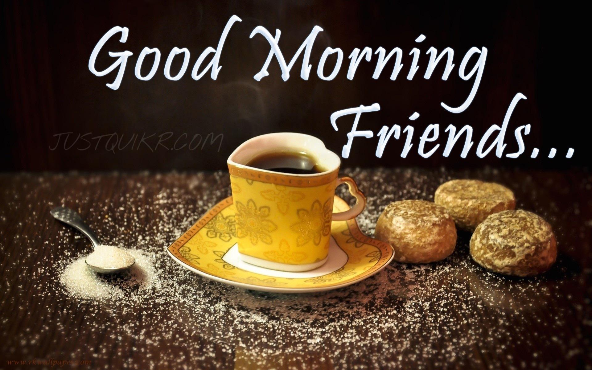 Good Morning Friends Pics Images Photo Wallpaper