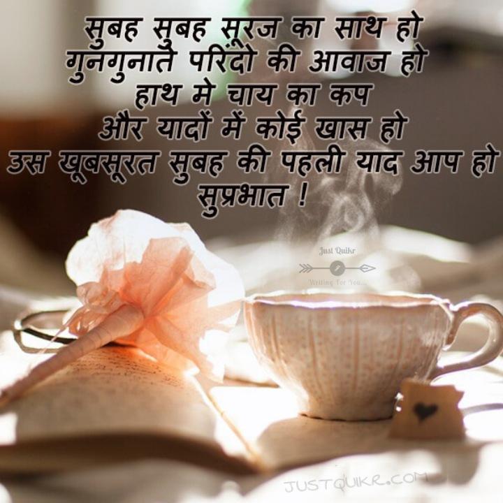 Top 8 :Good Morning in Hindi Pics Images | J u s t q u i k ...