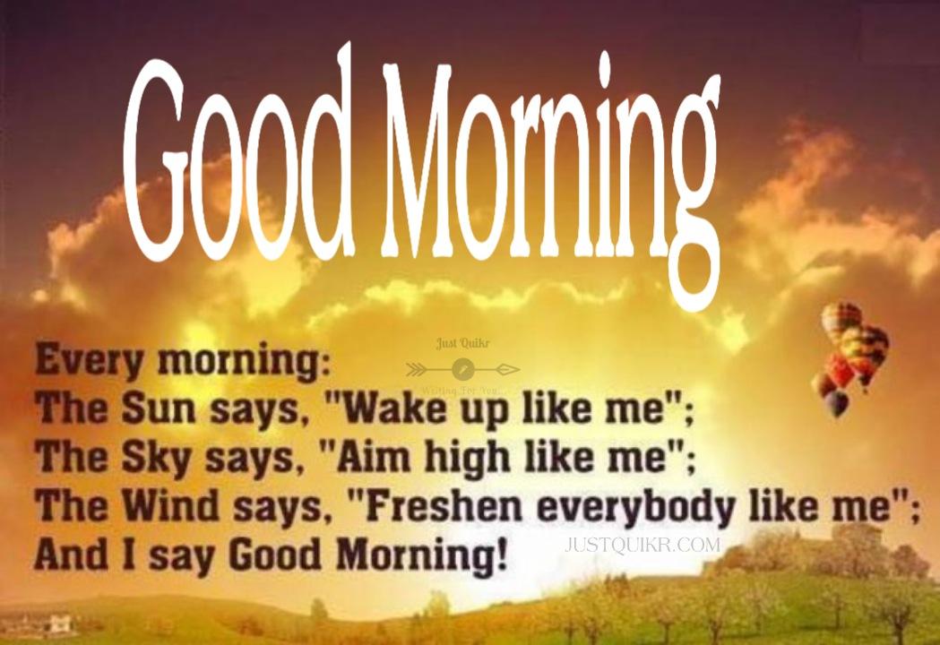 Good Morning Lines Pics Images Photo Wallpaper