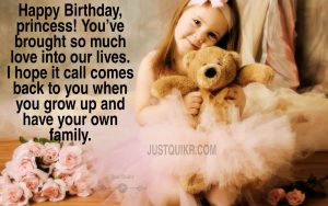Happy Birthday Special Unique Wishes and Messages for Little Princess