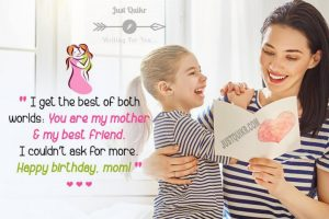 Birthday Greetings Sayings & SMS for Mom