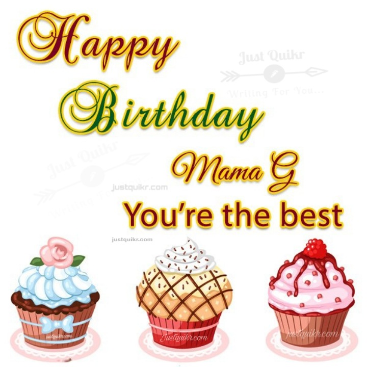 Creative Happy Birthday Special Unique Wishes and Messages for Mama Ji