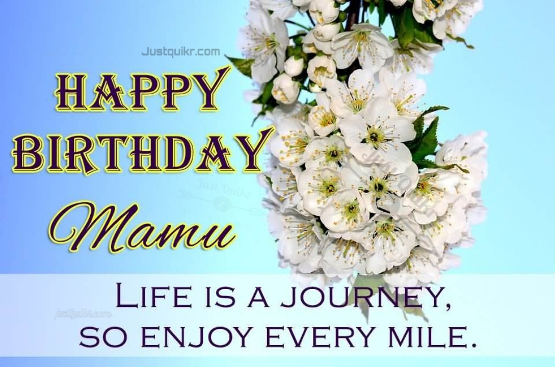 Creative Happy Birthday Wishes Thoughts Quotes Lines Messages in English for Mama Ji