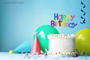 Creative Happy Birthday Wishing Cake Status Images for Normal Friend