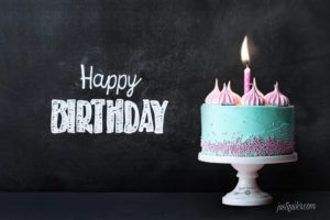 Creative Happy Birthday Wishing Cake Status Images for Old Friend