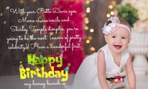 Happy Birthday Funny Wishes Memes and Images for One year Old Girl