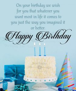 CreativeHappy Birthday Wishing Cake Status Images for Respected Teacher