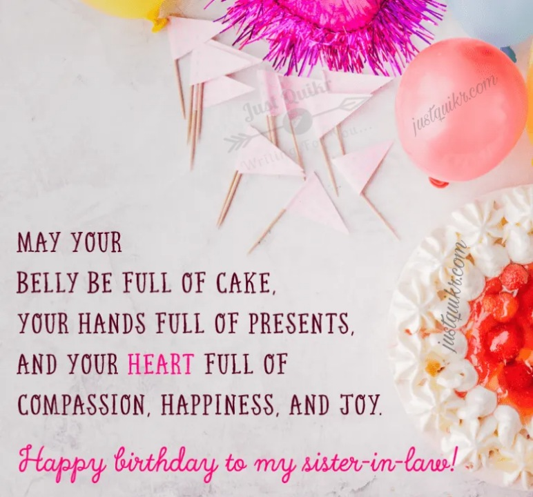 Happy Birthday Special Unique Wishes and Messages for Sister in Law