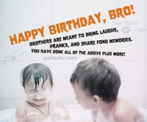 Creative Happy Birthday Wishes Thoughts Quotes Lines Messages in English for Small Brother