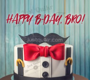 Creative Happy Birthday Wishing Cake Status Images for Small Brother