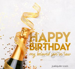CreativeHappy Birthday Wishes Thoughts Quotes Lines Messages in English for Son in Law