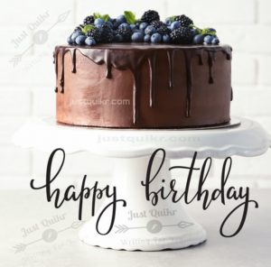 Creative Happy Birthday Wishing Cake Status Images for Woman