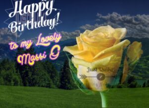 Creative Happy Birthday Wishes Thoughts Quotes Lines Messages in English For Massi ji