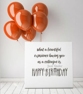 CreativeHappy Birthday Wishes Thoughts Quotes Lines Messages in English for Ex Colleague