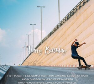 CreativeHappy Birthday Wishes Thoughts Quotes Lines Messages in English for Online Friend