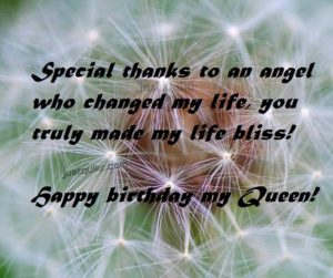 Creative Happy Birthday Wishes Thoughts Quotes Lines Messages in English for Queen
