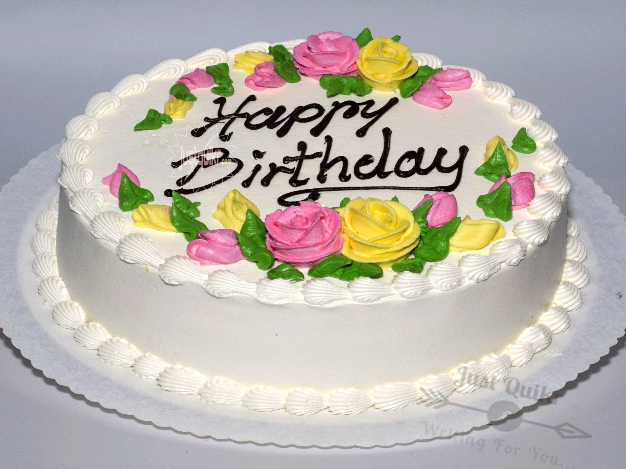 Creative Happy Birthday Wishing Cake Status Images for Office Staff