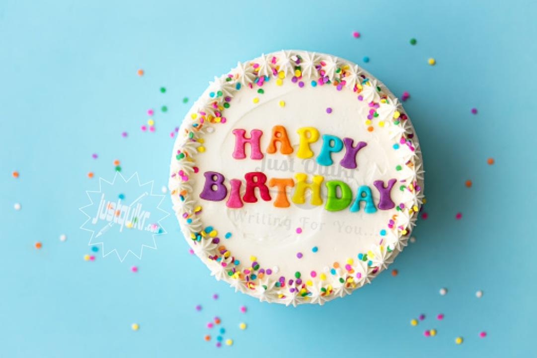 Creative Happy Birthday Wishing Cake Status Images for Tai ji