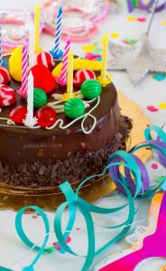 CreativeHappy Birthday Wishing Cake Status Images for Team Members