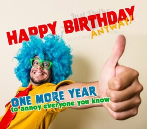 Happy Birthday Funny Wishes Memes and Images for Senior