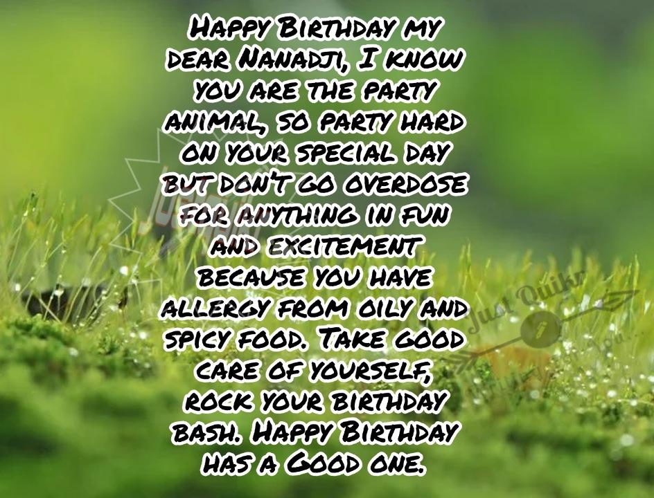 Happy Birthday Shayari Greetings Sayings SMS and Images for Nanad