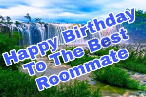 Happy Birthday Special Unique Wishes and Messages for Roommate