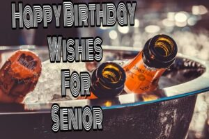 Happy Birthday Special Unique Wishes and Messages for Senior