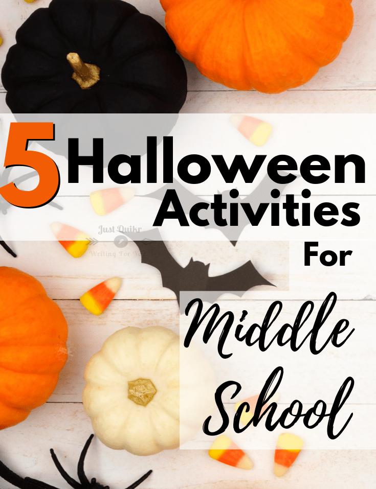 Halloween Day Activities for Middle School