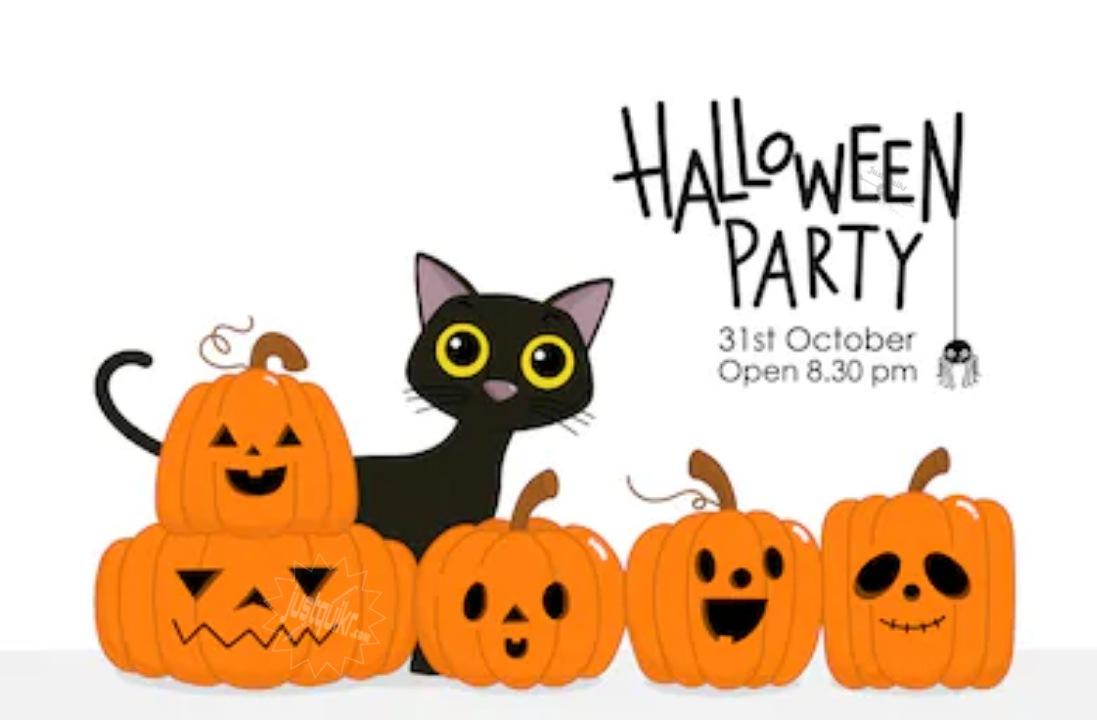 Halloween Day Cartoon Animals
