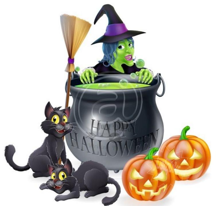 Halloween Day Cartoon HD Wallpapers