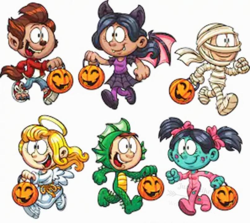 Halloween Day Cartoon Pumpkin Cute