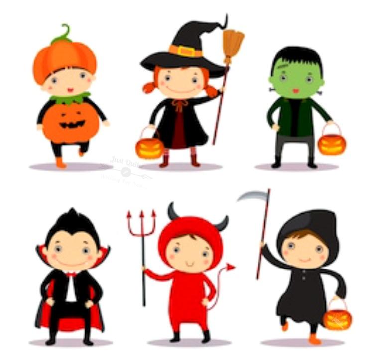 Halloween Day Cartoon Pumpkin Faces