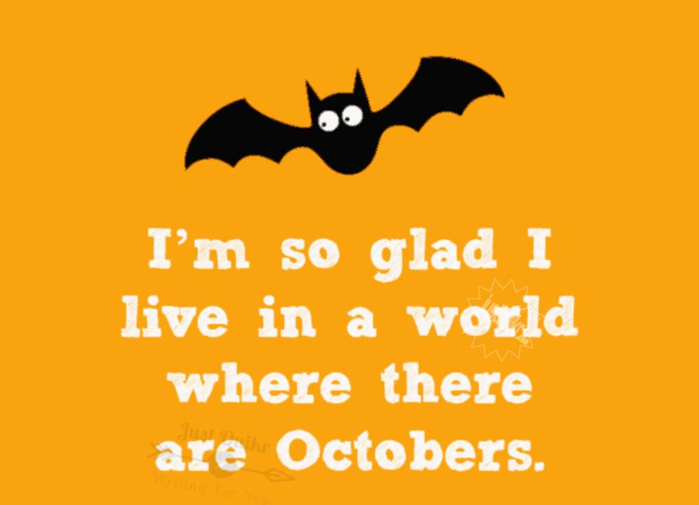 Halloween Day Cartoon Pumpkin Quotes