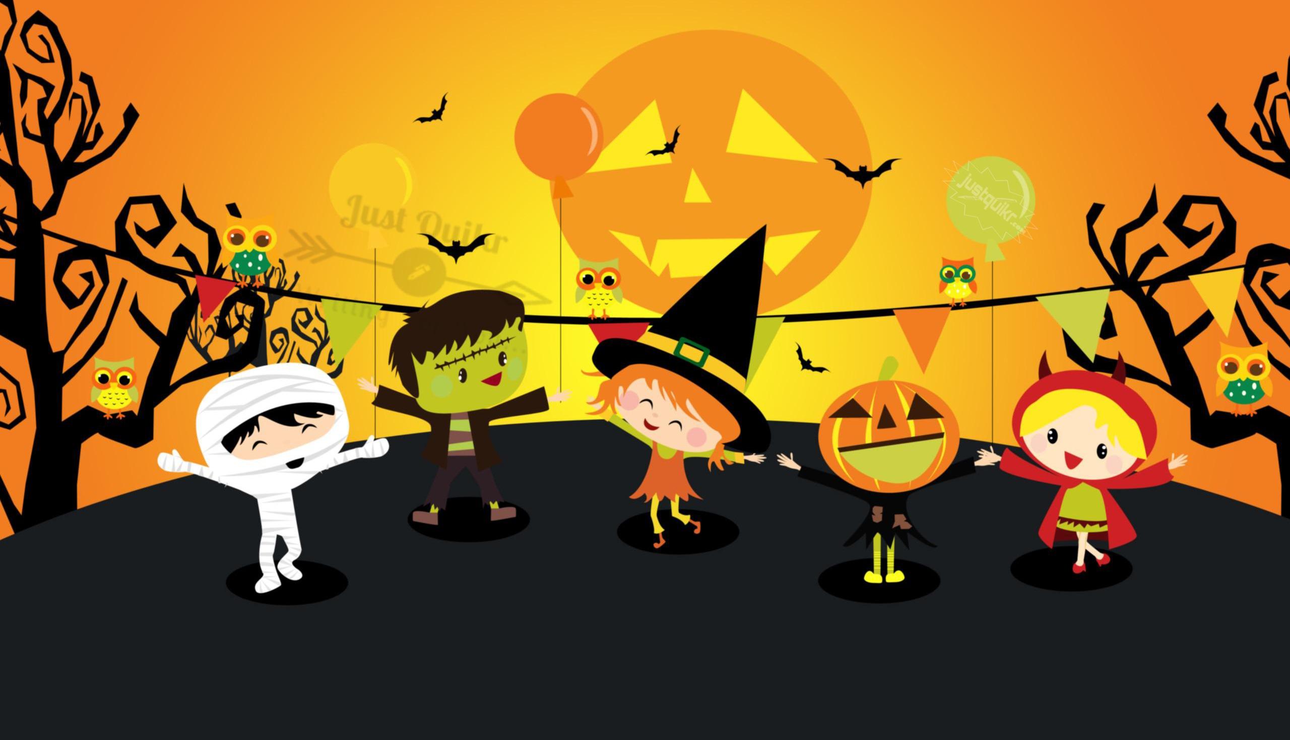 Halloween Day Cartoon Pumpkin Templates