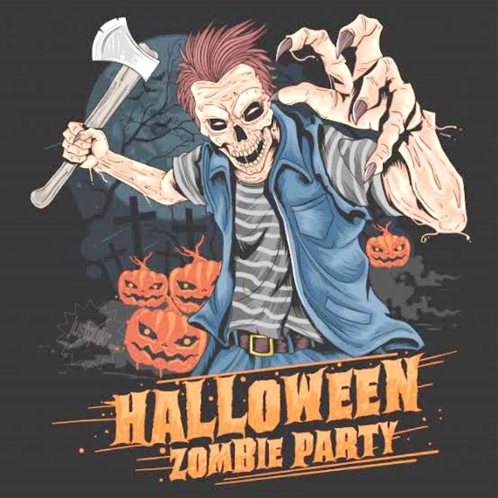 Halloween Day Cartoon Pumpkin Zombies HD Images Pictures