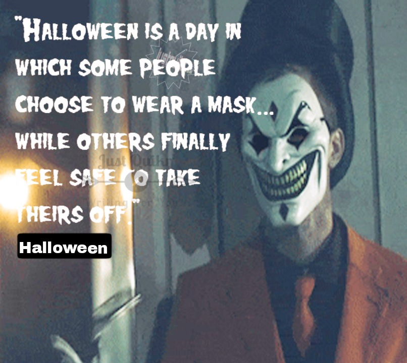 Halloween Day Celebration Thoughts