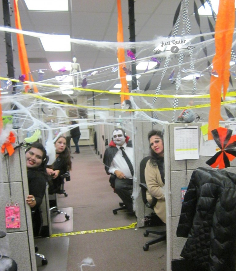 Halloween Day Celebration in Office