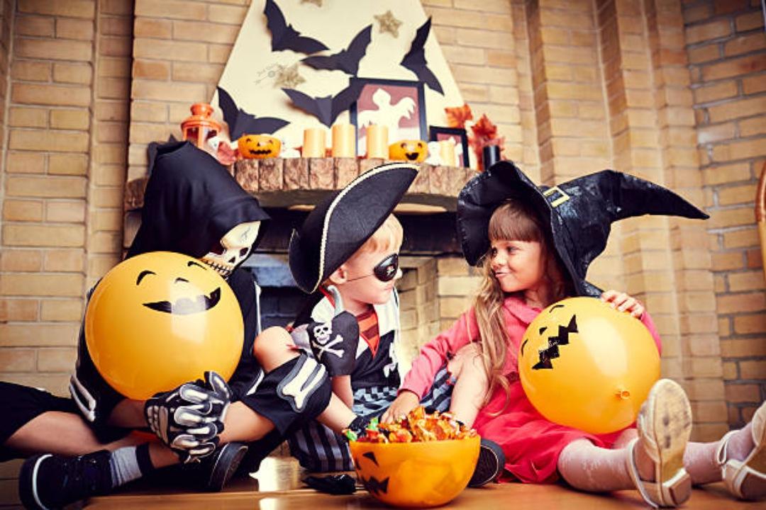 Halloween Day Celebration in School