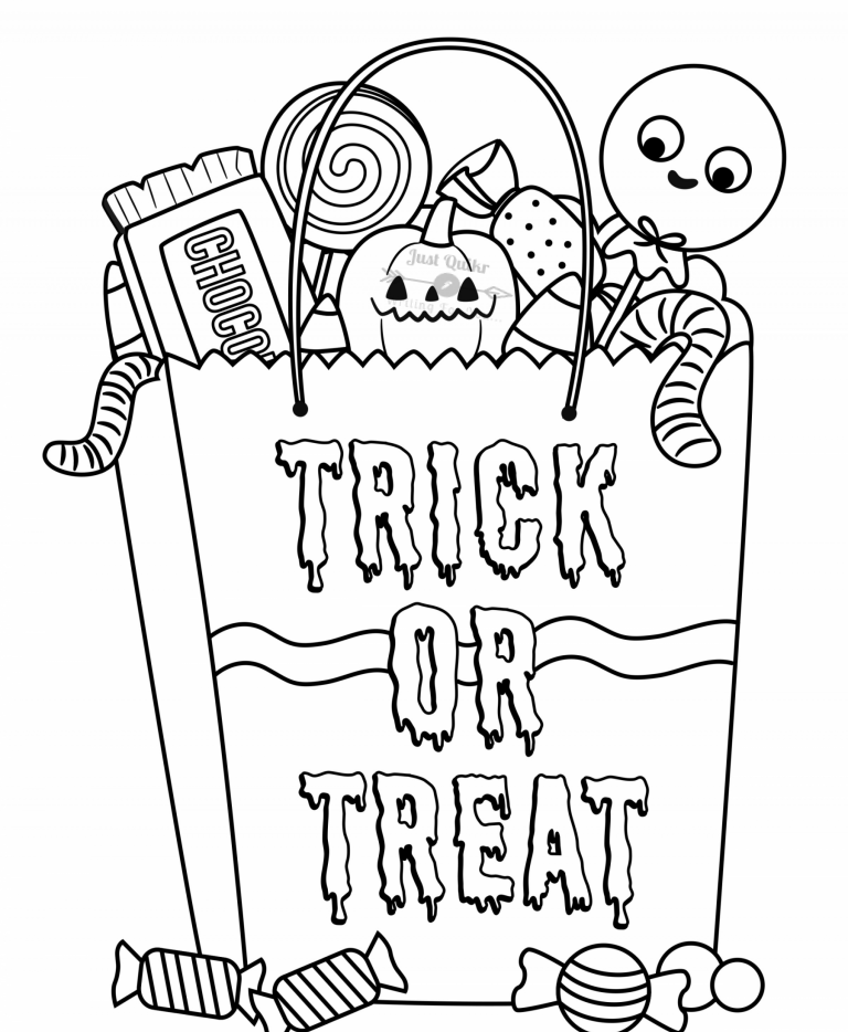 Halloween Day Coloring Pages Drawings for Kid