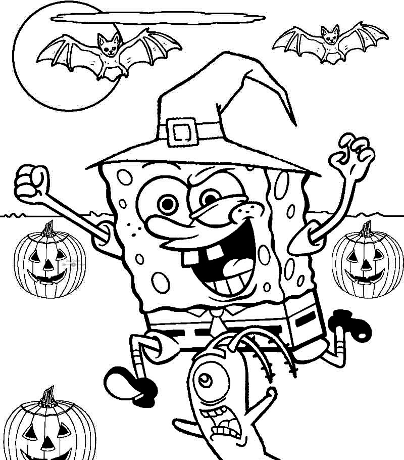 Halloween Day Coloring Pages Supercoloring Drawings