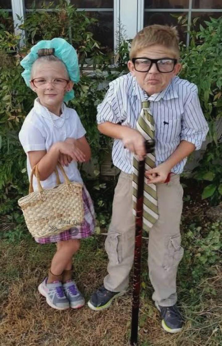 Halloween Day Dress Ideas for Elderly